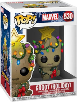 Marvel Funko Pop! Groot (Holiday Lights) #530
