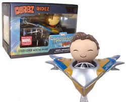 Guardians of the Galaxy DORBZ Ridez Star-lord with the Milano #27