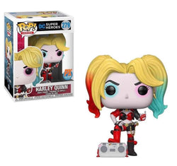 DC Super Heroes Funko Pop! Harley Quinn (with Boombox) #279