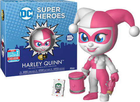 DC Super Heroes Funko 5 Star Harley Quinn (Pink) (Shared Sticker)