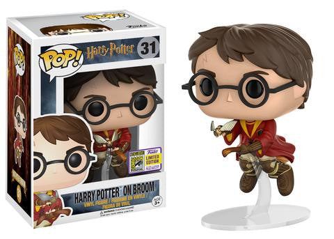 Harry Potter Funko Pop! Harry on Broom (Convention Sticker) #31