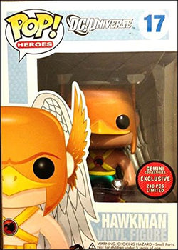 DC Super Heroes Funko Pop! Hawkman (Metallic) #17