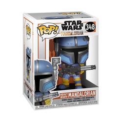 Star Wars: The Mandalorian Funko Pop! Heavy Infantry Mandalorian #348
