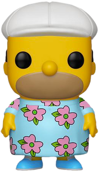 The Simpsons Funko Pop! Homer in Muumuu (Pre-Order)