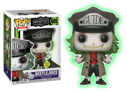 Horror Funko Pop! Beetlejuice (With Hat) (GITD) #605