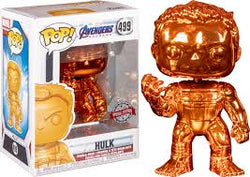Avengers Endgame Funko Pop! Hulk (Infinity Gauntlet) (Orange Chrome) #499