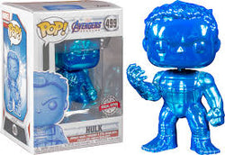 Avengers Endgame Funko Pop! Hulk (Infinity Gauntlet) (Blue Chrome) #499