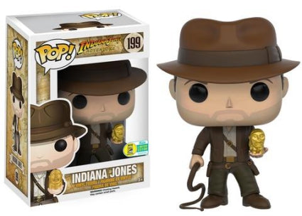 Indiana Jones Funko Pop! Indiana Jones (Golden Idol) (Convention Sticker) #199