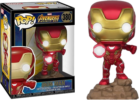 Avengers: Infinity War Funko Pop! Iron Man (Light Up) #380
