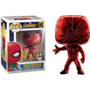 Avengers Infinity War Funko Pop! Iron Spider (Red Chrome)
