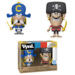 Ad Icons Funko Vynl Cap'n Crunch & Jean Lafoote
