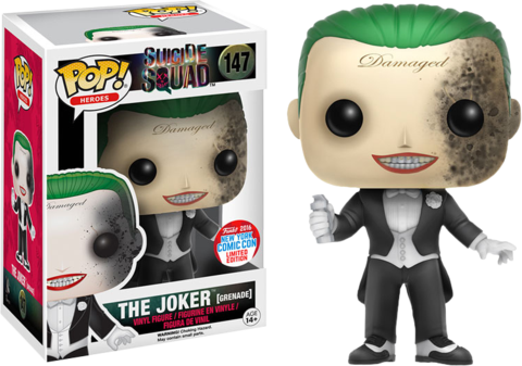 Suicide Squad Funko Pop! The Joker (Grenade) #147