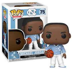 College Basketball UNC Funko Pop! Michael Jordan (Warm Ups) #75 (Pre-Order)