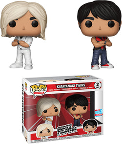 Scott Pilgrim Vs. the World Funko Pop! Katayanagi Twins (Shared Sticker) (2-Pack)
