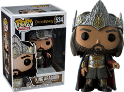 Lord of the Rings Funko Pop! King Aragorn #534