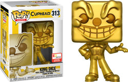 Cuphead Funko Pop! King Dice (Gold) #313