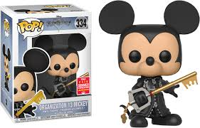 Kingdom Hearts Funko Pop! Organization 13 Mickey (Shared Sticker) #334