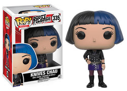 Scott Pilgrim Vs. the World Funko Pop! Knives Chau #335