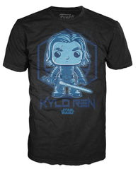 Funko Apparel Tee Star Wars Holographic Kylo Ren