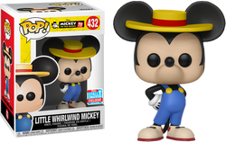 Mickey's 90th Funko Pop! Little Whirlwind Mickey (Shared Sticker)