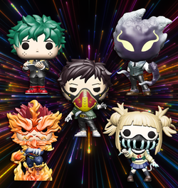 My Hero Academia Funko Pop! Complete Set of 5 2020 (Pre-Order)