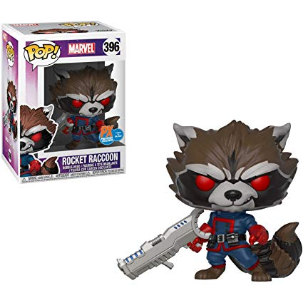Marvel Funko Pop! Rocket Raccoon #396