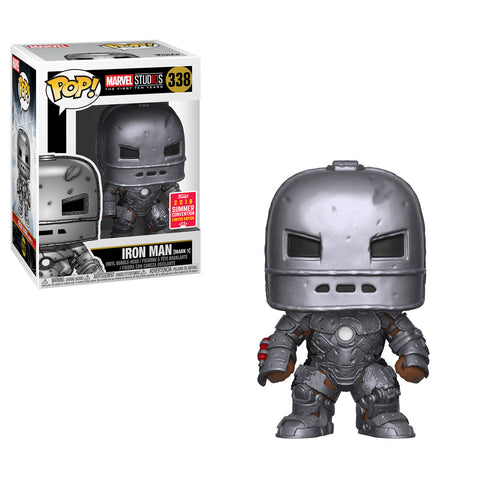 Marvel Studios Funko Pop! Iron Man Mark 1 (Shared Sticker)