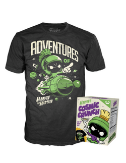 Funko Pop! Apparel Marvin's Cosmic Crunch Tee