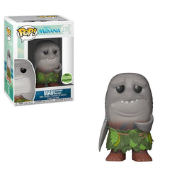 Moana Funko Pop! Maui (Shark Head) (Shared Sticker) #376