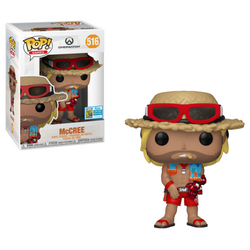 Overwatch Funko Pop! McCree (Summer) (Shared Sticker) #516