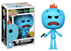 Rick and Morty Funko Pop! Mr. Meeseeks CHASE #174