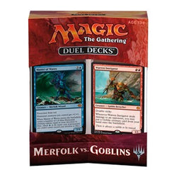 Magic the Gathering - Merfolk vs Goblins - Duel Decks