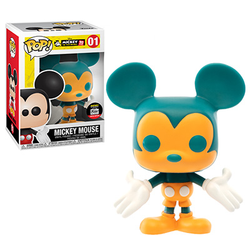 Mickey's 90th Anniversary Funko Pop! Mickey Mouse (Orange & Teal) #01