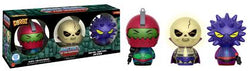 Masters of the Universe Funko DORBZ Trap Jaw, Scare Glow, and Spikor