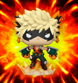 My Hero Academia Funko Pop! Katsuki Bakugo (with Flames) (2020 Shared Sticker) #803 (Pre-Order)