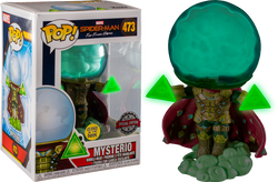 Spider-Man: Far From Home Funko Pop! Mysterio (GITD) #473