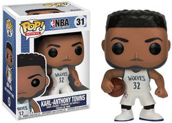 NBA Funko Pop! Karl-Anthony Towns (White Jersey) #31