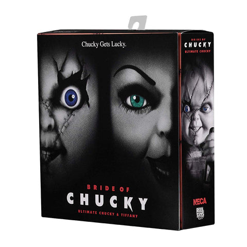"NECA Bride of Chucky Ultimate Chucky & Tiffany 2-Pack 4"" Scale Action Figure"
