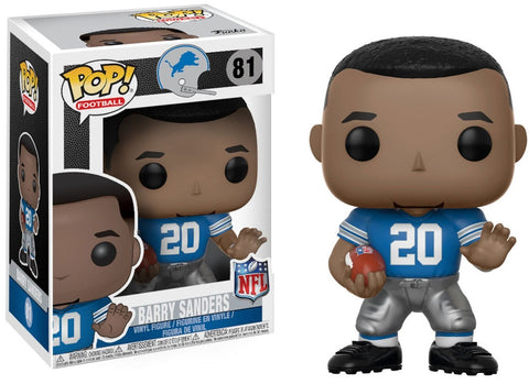 NFL Lions Funko Pop! Barry Sanders #81