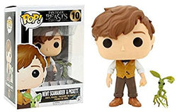 Fantastic Beasts Funko Pop! Newt Scamander & Picket #10