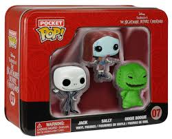 Nightmare Before Christmas Funko Pocket Pop! Jack, Sally and Oogie Boogie