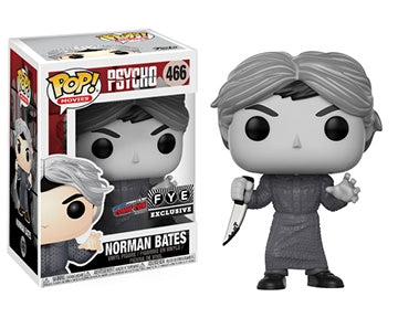 Psycho Funko Pop! Norman Bates (Black and White) #466