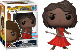 Black Panther Funko Pop! Okoye (Removable Wig) (Shared Sticker) #385