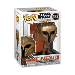 Star Wars: The Mandalorian Funko Pop! The Armorer (Metallic) #353