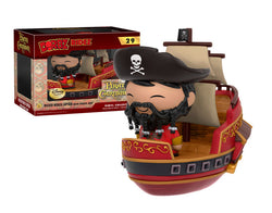 Pirates of the Caribbean Funko DORBZ Ridez Wicked Wench Captain with Pirate Ship