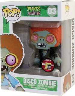 Plants vs. Zombies Funko Pop! Disco Zombie (Convention Sticker) #03