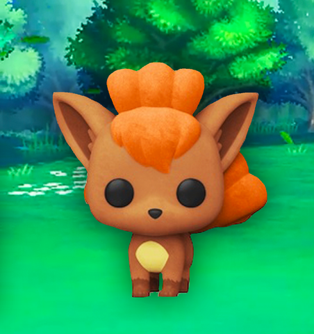 Pokemon Funko Pop! Vulpix (Flocked) (2020 Shared Sticker) #580