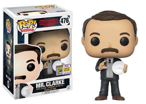 Stranger Things Funko Pop! Mr. Clarke (Convention Sticker) #476