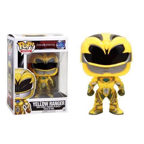 Power Rangers Funko Pop! Yellow Ranger #398