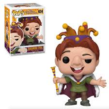 The Hunchback of Notre Dame Funko Pop! Quasimodo (Fool with Crown) #634